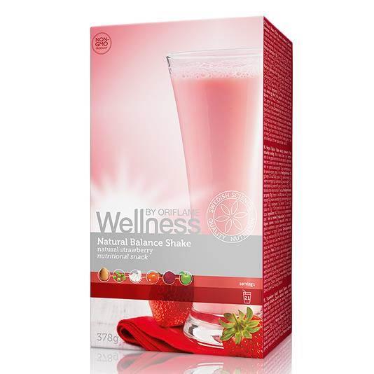 Φυσικό Ρόφημα με γεύση Φράουλα Natural Balance Shake