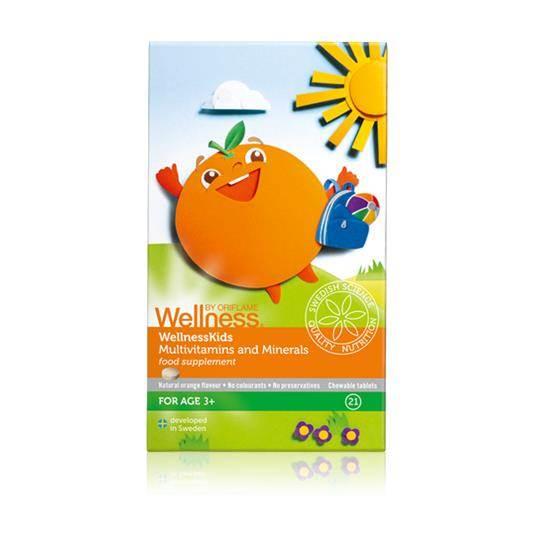 Πολυβιταμίνες & Μέταλλα για Παιδιά WellnessKids