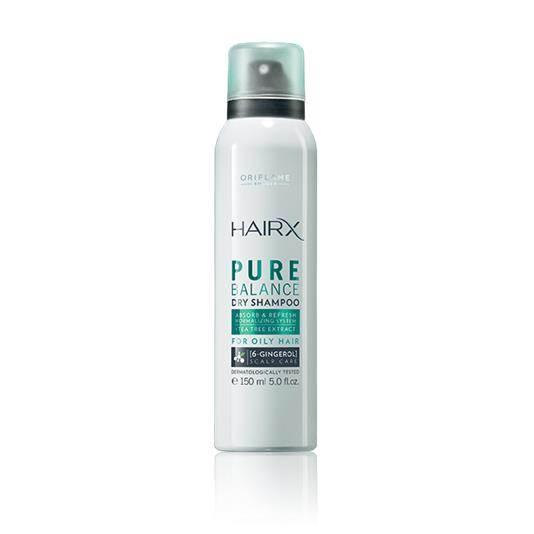 Ξηρό Σαμπουάν σε Spray HairX Pure Balance