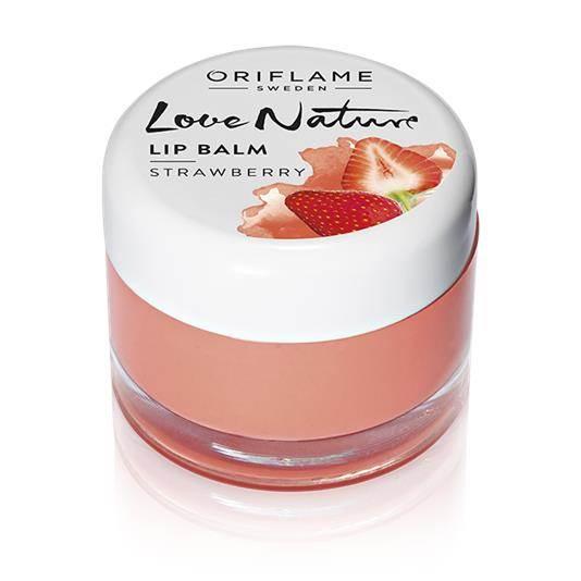 Προϊόν Περιποίησης Χειλιών Love Nature - Φράουλα