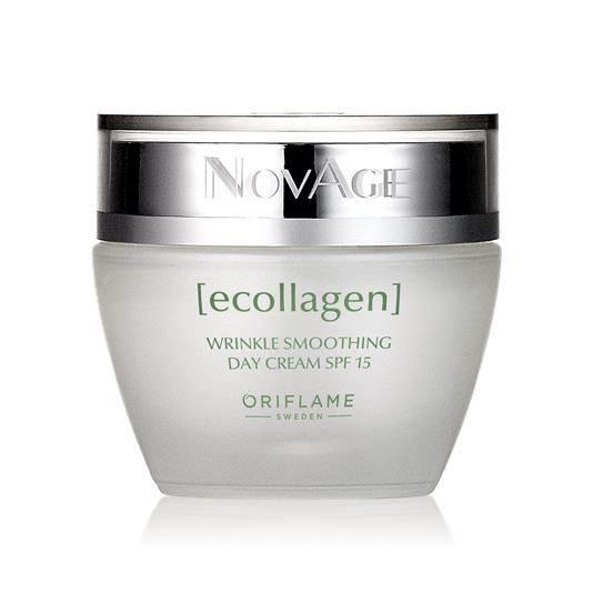 Αντιρυτιδική Κρέμα Ημέρας με SPF 15 NovAge Ecollagen