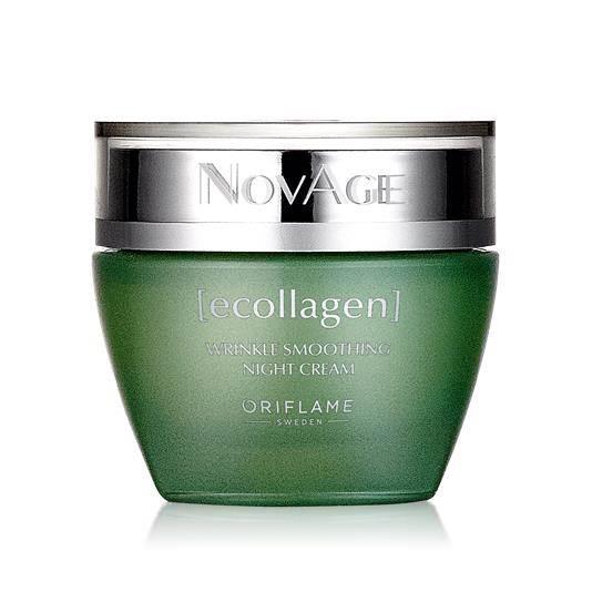 Αντιρυτιδική Κρέμα Νύχτας NovAge Ecollagen