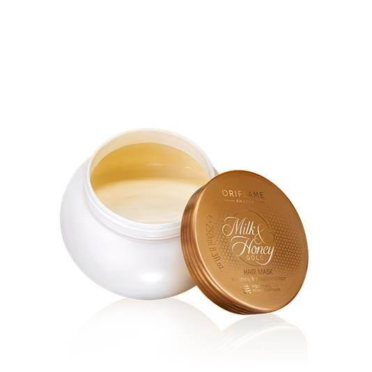 Μάσκα Μαλλιών Milk & Honey Gold