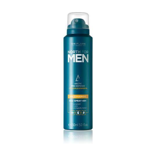 Αποσμητικό Spray 48ωρης Δράσης North for Men Recharge