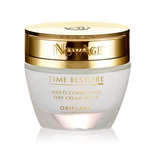 Κρέμα Ημέρας με SPF 15 NovAge Time Restore