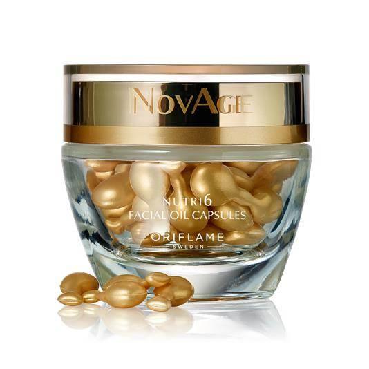 Κάψουλες Προσώπου NovAge Nutri6