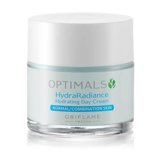 Ενυδατική Κρέμα Ημέρας για Κανονικές/ Μικτές Επιδερμίδες Optimals Hydra Radiance