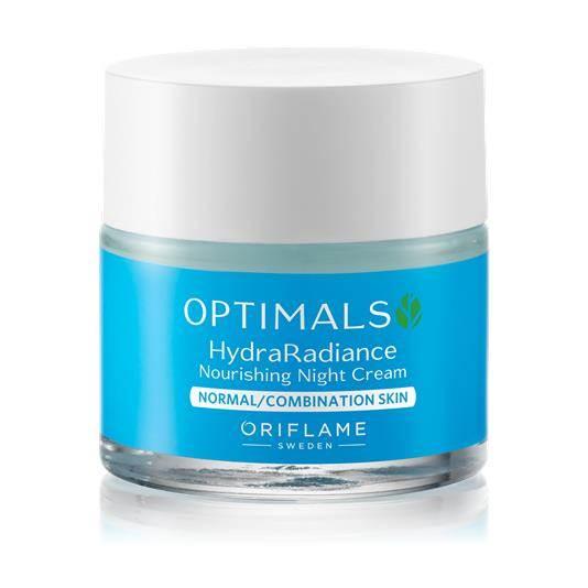Θρεπτική Κρέμα Νύχτας για Κανονικές/ Μικτές Επιδερμίδες Optimals Hydra Radiance