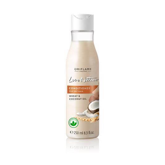 Conditioner για Ξηρά Μαλλιά με Σιτάρι & Έλαιο Καρύδας Love Nature