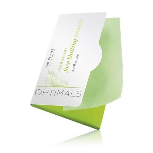 Χαρτάκια για Mατ Eπιδερμίδα Oxygen Boost Optimals
