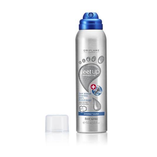 Αντιιδρωτικό Αποσμητικό Spray Ποδιών 36ωρης Προστασίας Feet Up Advanced