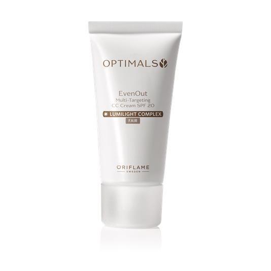 CC Cream Πολλαπλής Δράσης με SPF 20 Optimals Even Out Fair