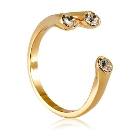Δαχτυλίδι Sparq GoldenToned