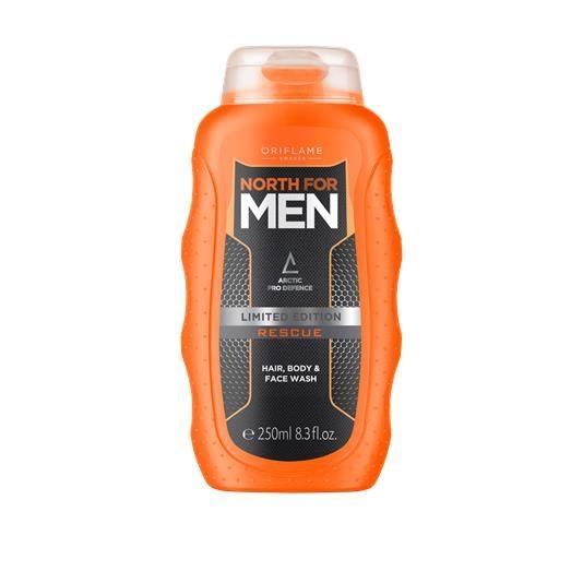 Προϊόν Καθαρισμού για τα Μαλλιά το Σώμα & το Πρόσωπο North For Men Rescue