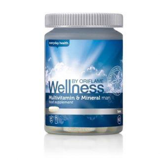 Πολυβιταμίνες & Μέταλλα για Άντρες Wellness