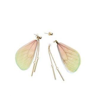 Σκουλαρίκια Amazonia Butterfly