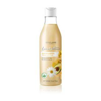 2-σε-1 Σαμπουάν για Όλους τους Τύπους Μαλλιών με Αβοκάντο & Χαμομήλι Love Nature
