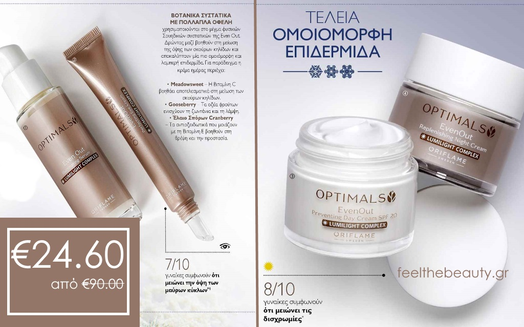 Σετ Optimlas Even Out