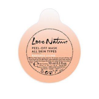 Μάσκα Peel-Off Για Όλους Τους Τύπους Επιδερμίδας με Lychee Για Λάμψη Love Nature