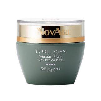 Κρέμα Ημέρας με SPF30 NovAge Ecollagen Wrinkle Power