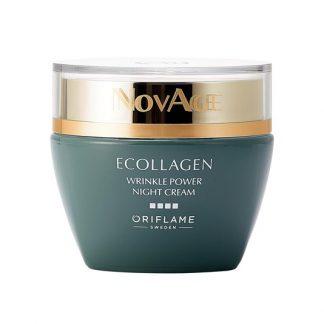 Κρέμα Νύχτας NovAge Ecollagen Wrinkle Power