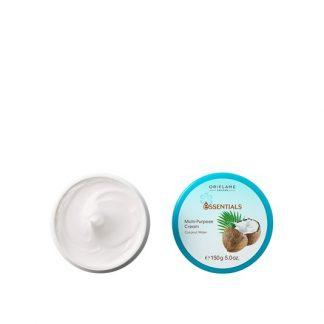 Ενυδατική Κρέμα Πολλαπλής Χρήσης με Νερό Καρύδας Essentials