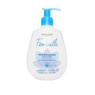 Αναζωογονητικό Προϊόν Καθαρισμού με Φραγκοστάφυλο & Άνθος Λωτού Feminelle