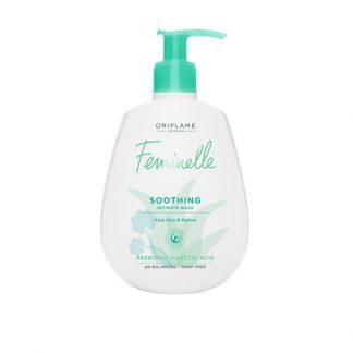 Καταπραϋντικό Προϊόν Καθαρισμού για την Ευαίσθητη Περιοχή με Aloe Vera & Μολόχα Feninelle